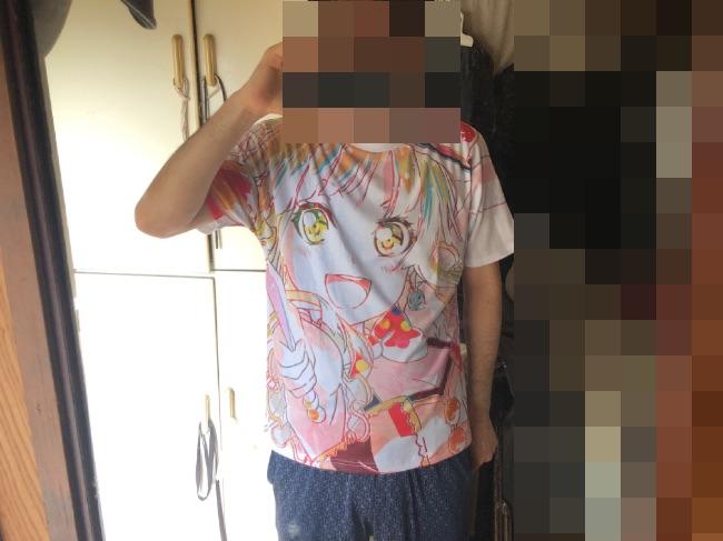 アムニバスバンドリシャツを実際に着てみた
