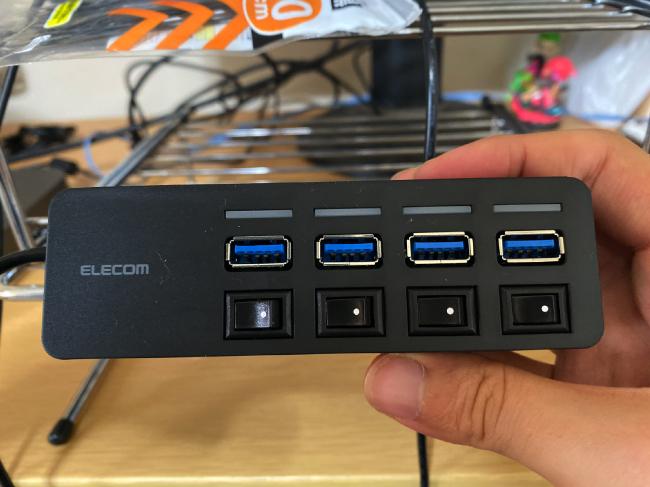 USBスイッチングハブ