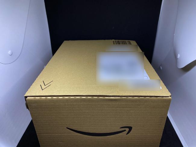 homgeekミキサーのamazon配送箱