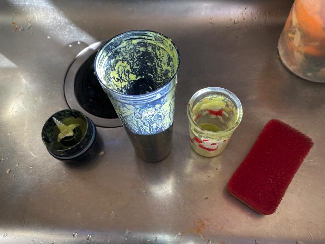 homgeekミキサーは洗い物が楽